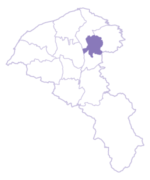 Taoyuan Dist. location map