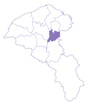 Bade Dist. location map
