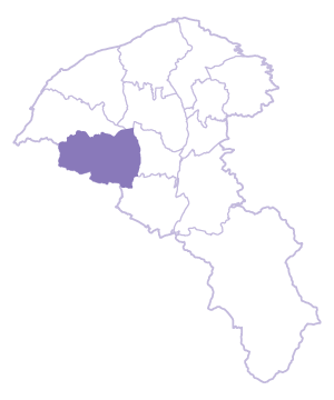 Yangmei Dist. location map