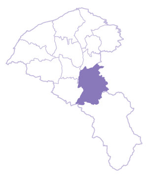 Daxi Dist. location map