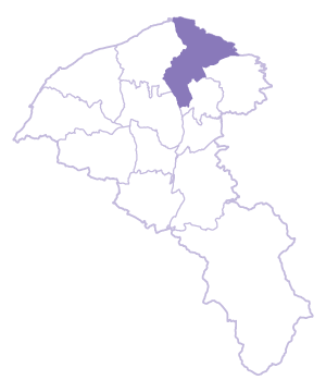 Luzhu Dist. location map