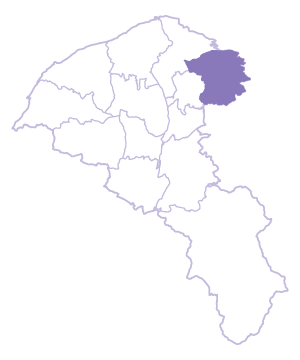 Guishan Dist. location map