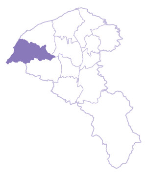 Xinwu Dist. location map