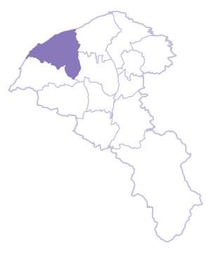 Guanyin Dist. location map