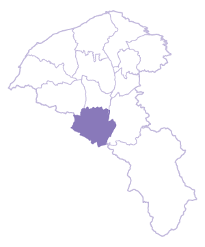 Longtan Dist. location map
