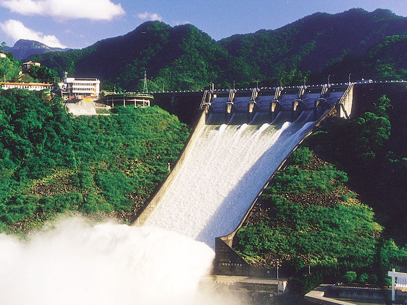 Flood Discharge from Shihmen Dam