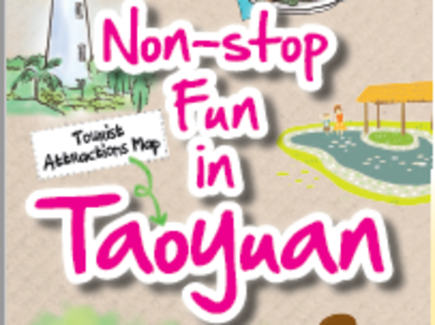 Non-stop Fun in Taoyuan  Tourist Attractions Map
