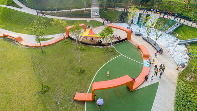 Fenghe Park is the first evacuation park in Taiwan.